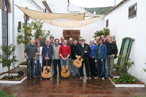 The group at Cortijo Andalus